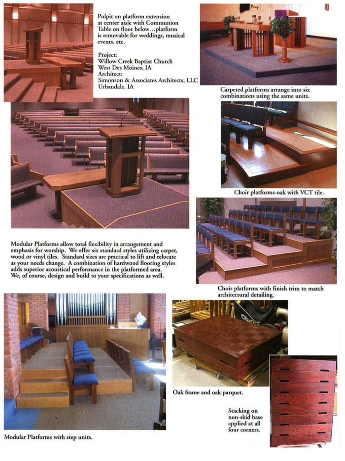 Platforms Gunder Church Furniture